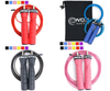 Speed Jump Rope with Unique 2 Cable Skipping Workout System  1 Heavy and 1 Light - Everyday Crosstrain