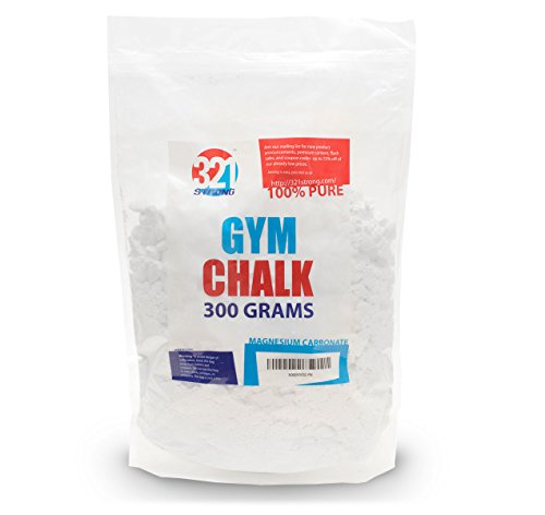 300 Gram (10.58 oz) Loose Gym Chalk. Best Chalk for Weightlifting and Gymnastics - Everyday Crosstrain