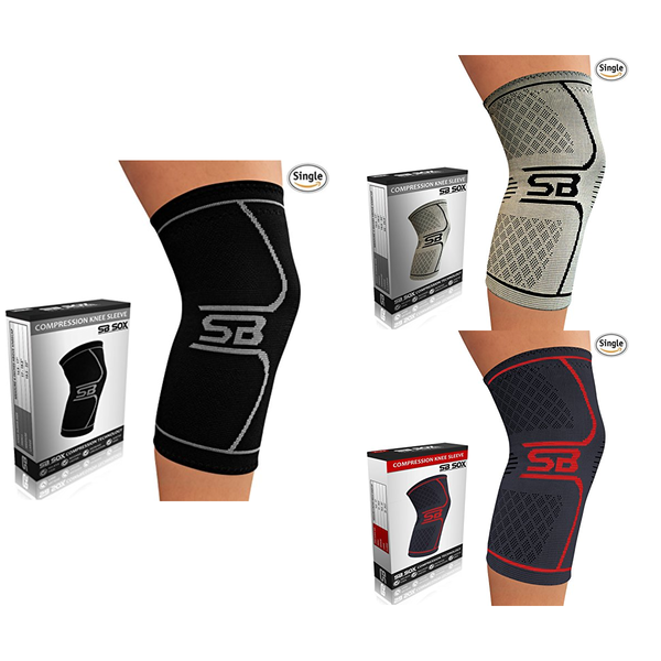 Compression Knee Brace for Knee Pain - Braces and Supports Knee for Pain Relief - Everyday Crosstrain