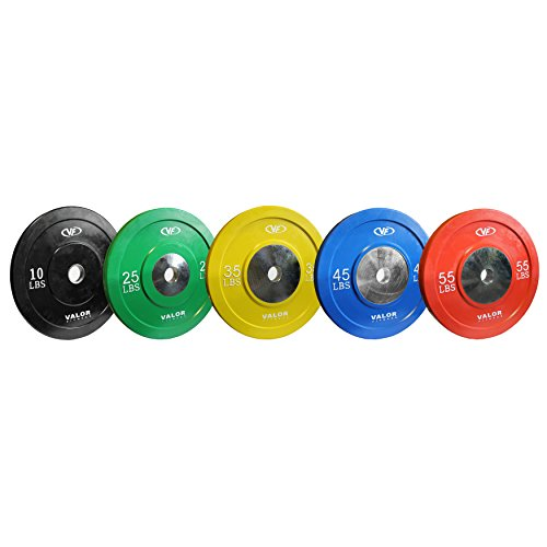 Premium High Quality Colored Rubber Bumper Plates for Olympic Weightlifting