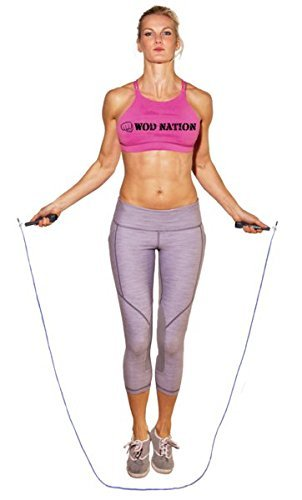 Adjustable Blazing Fast Jumping Ropes - Improve your Double Unders Today! - Everyday Crosstrain