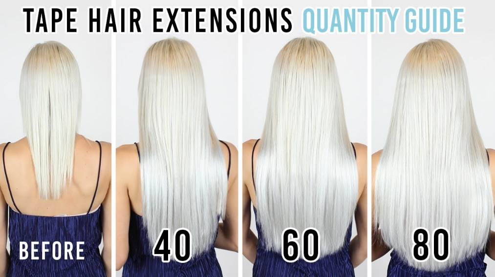 Extra Full Head Hair Extensions (For Thickness & Full Length)