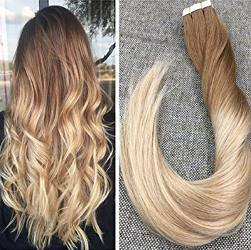 Half Head Hair Extensions 20 pieces (For little Thickness Only, Fill in Gaps)