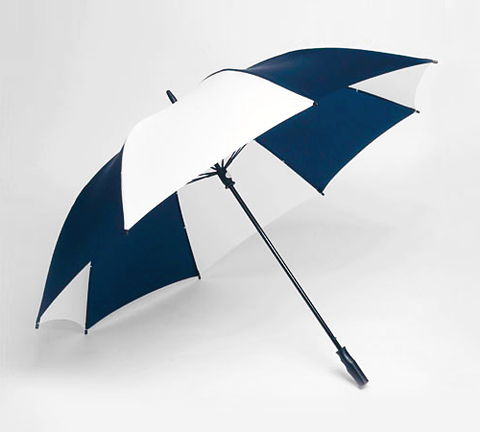 "Single Canopy 62"" Golf Oversized - Navy/White"