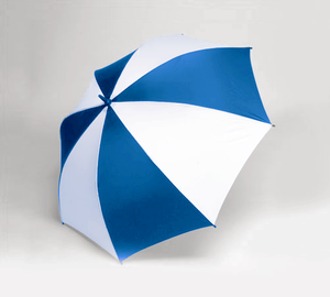 "Single Canopy 62"" Golf Oversized - Royal/White"