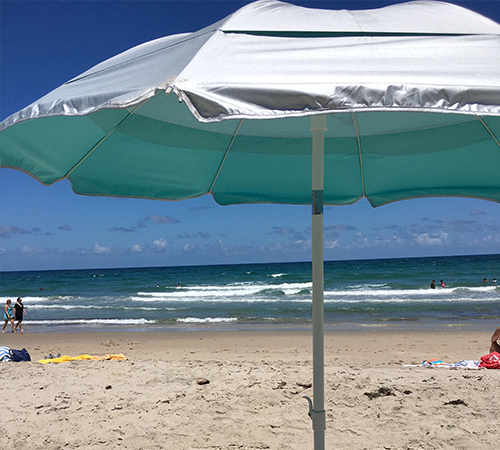 6' Beach Solarteck® Umbrella