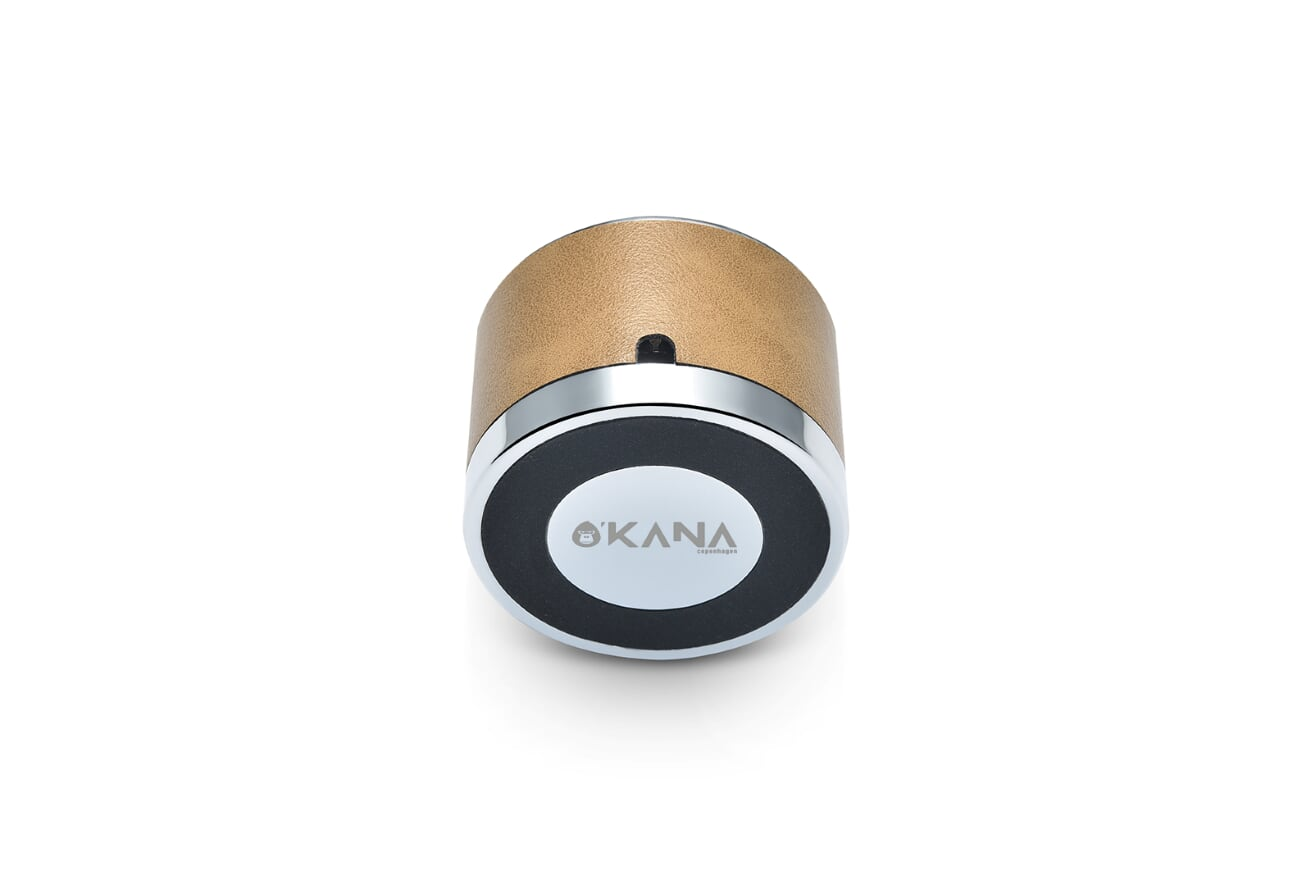 O'KANA Microfiber Leather Universal Phone Dock Stand with Aluminum Base (For Helping Charging)
