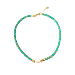 Sheryl Turquoise Short Necklace