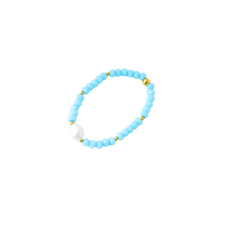 Light Blue Crystals  Bracelet