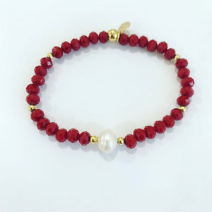 Red Crystals  Bracelet