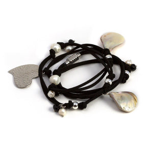 Courtney Versatile Bracelet Black