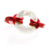Geannin Red Mother of Pearl Ring Bracelet