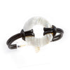 Geannin Black Mother of Pearl Ring Bracelet