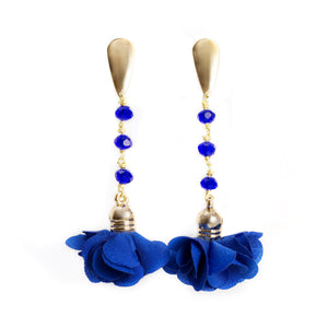 Ale Blue Flower Earrings