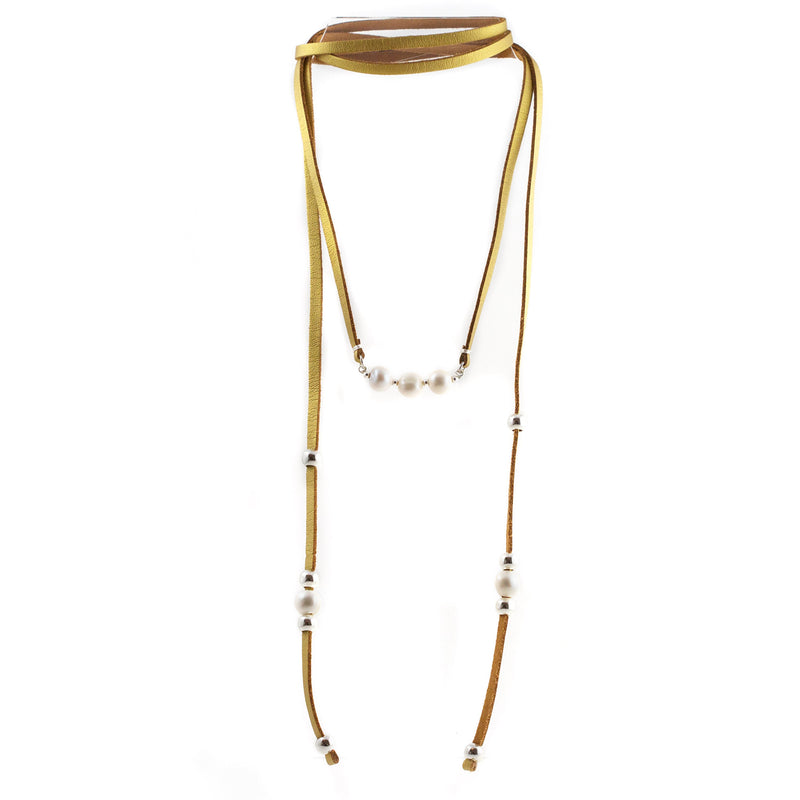 Tania Freshwater Pearls Lariat Necklace