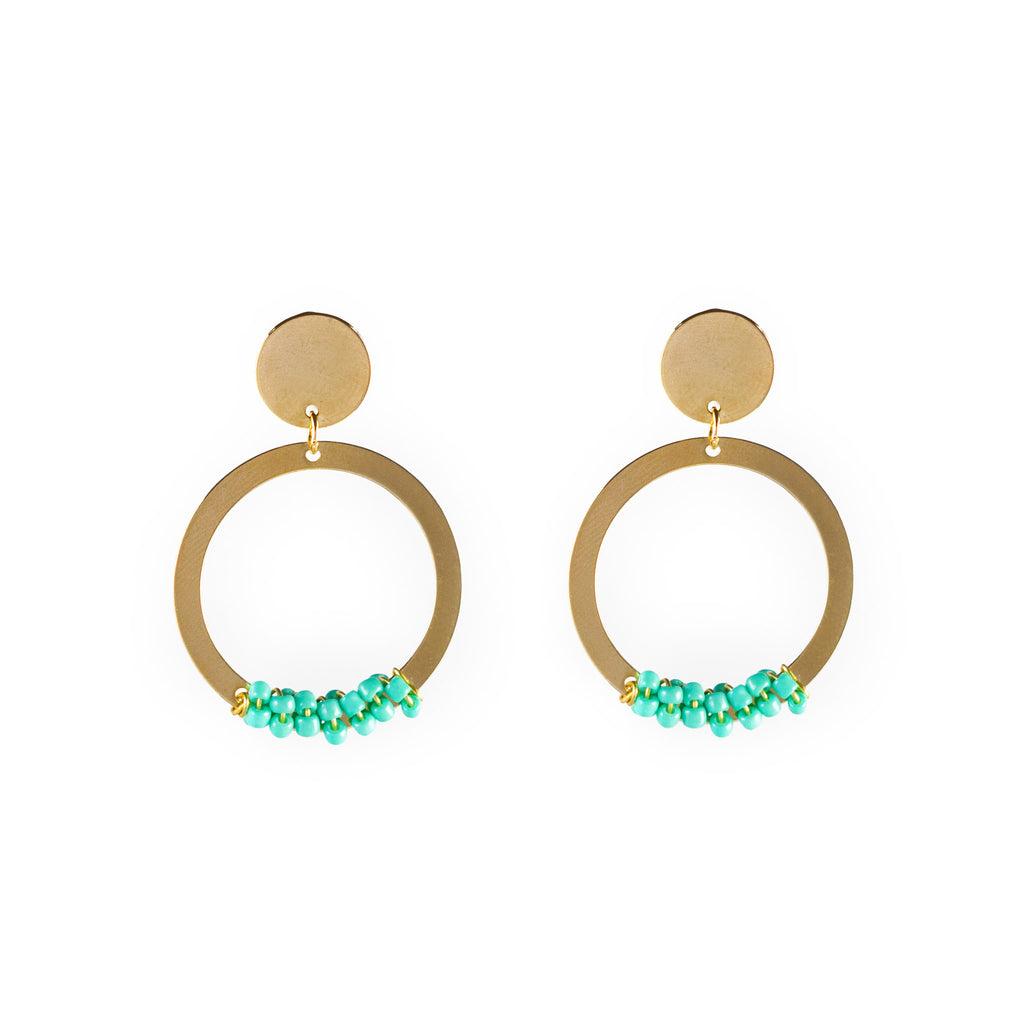 Melany Hoops Earrings