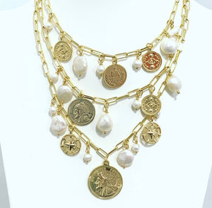 Coins Chain Necklace
