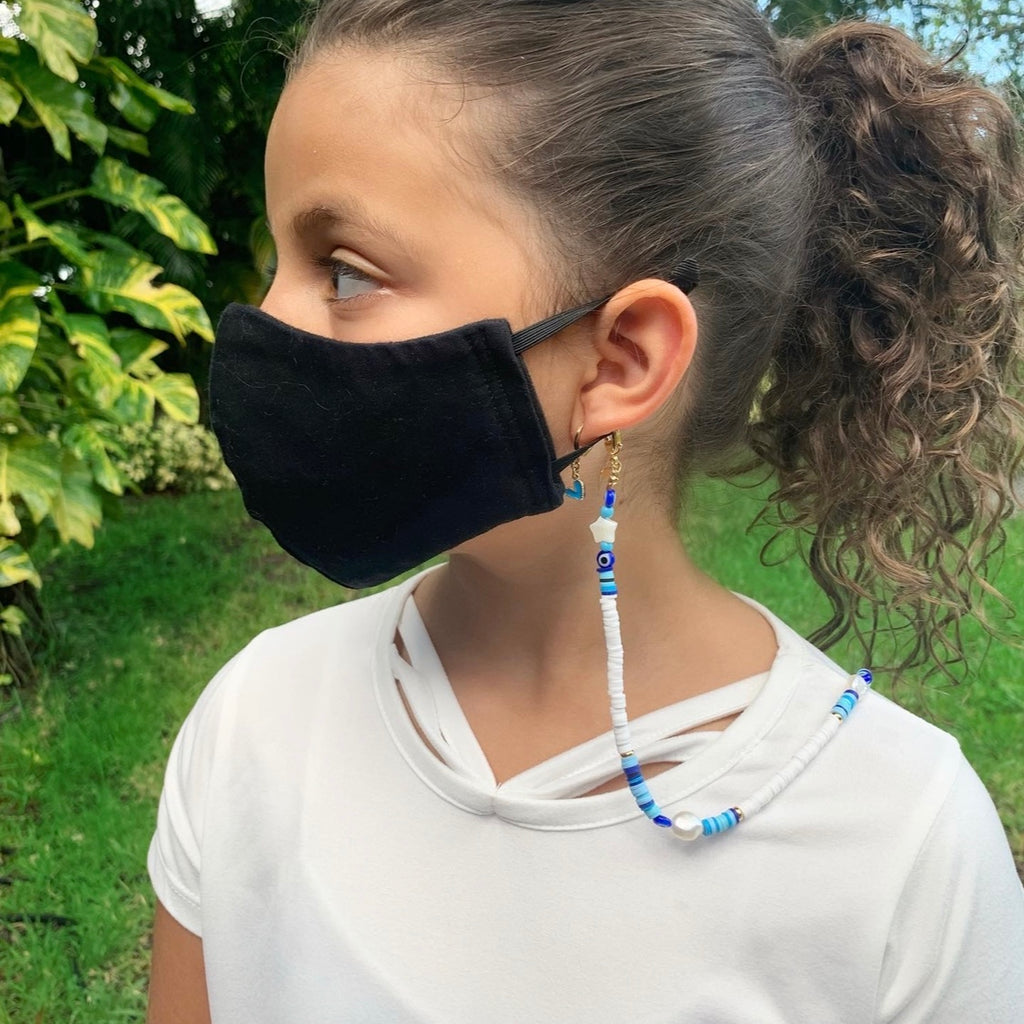 Multicolor Kids Mask Holder