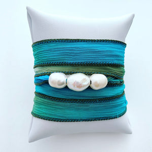Silk Watercolor Versatile Bracelet