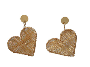 Guacuco Heart Earrings