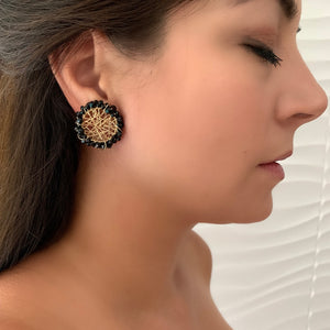 Parguito Black Earrings