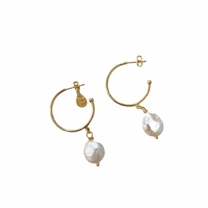 Stella Hoops Earrings
