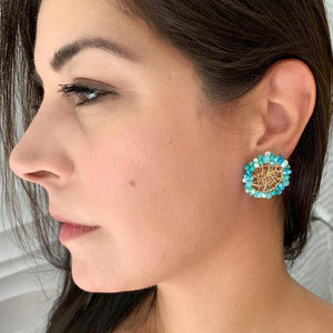 Parguito Blue  Earrings