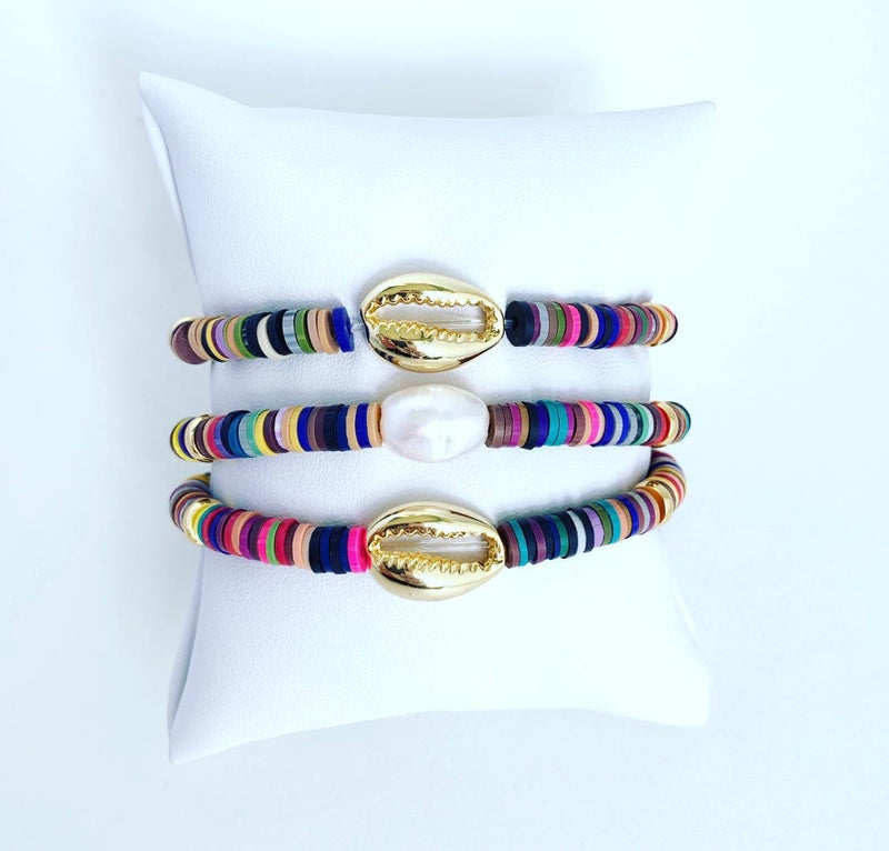 Citrus Dark Stack Bracelet