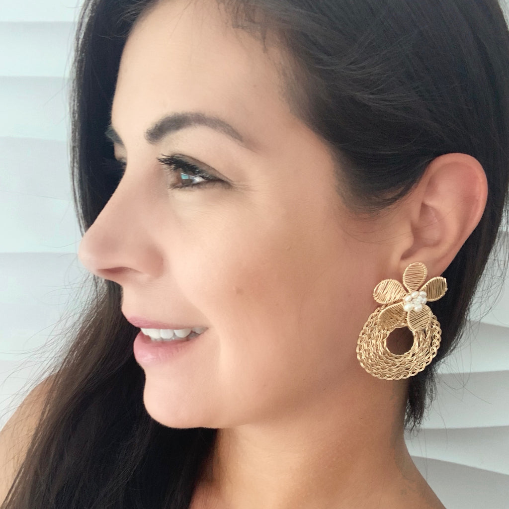 Bahia de Plata Earrings