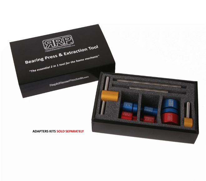 Bearing Press & Extraction Tool and Bearing Adapter Kits (sold separately)