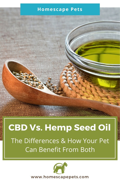 The difference between CBD and Hemp Seed Oil for Your Pet
