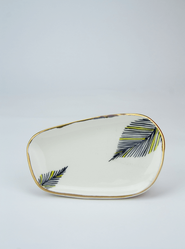 Hand-painted Hafsin Plate