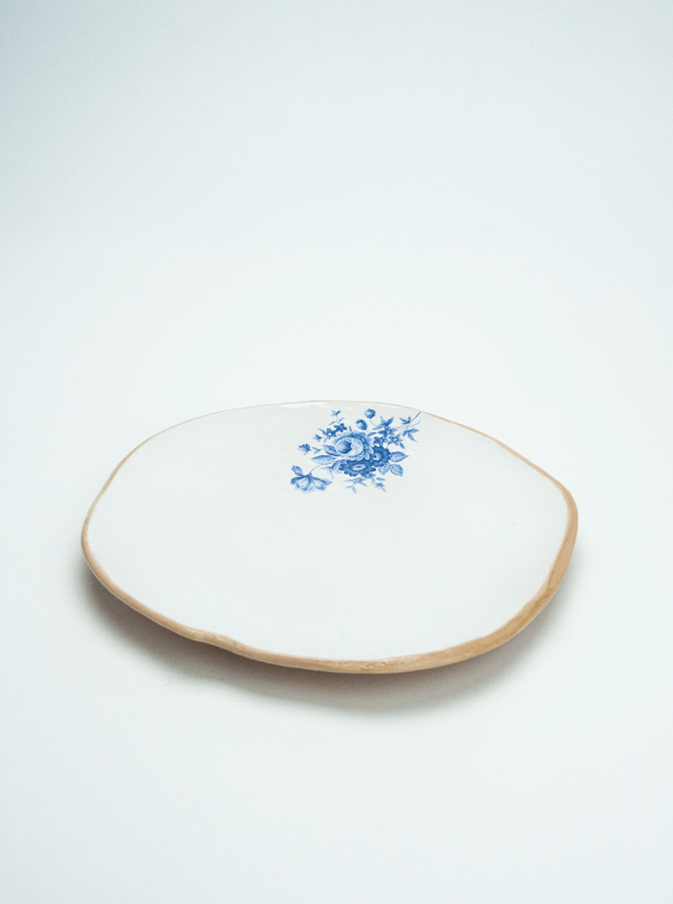 Small Handmade Ceramic Plate