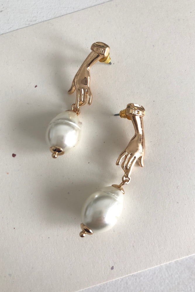 TOUCH OF GOLD EARRING - back in stock