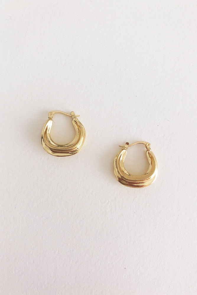 TILDA EARRING - pure gold