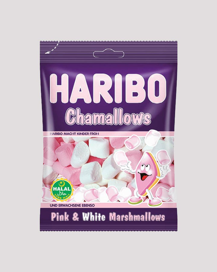 Halal Marshmallows - Haribo Halal Marshmallows - Chamallows (70g)