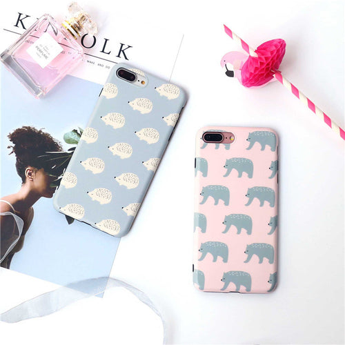 Polar Bear Soft Silicone Cases For iPhone (all models)