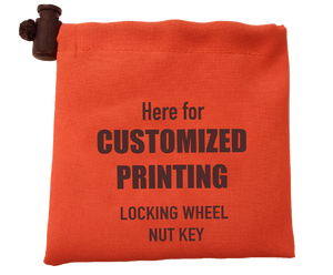 Wheel Lock Key Bags / Locking Wheel Nut Key Bags