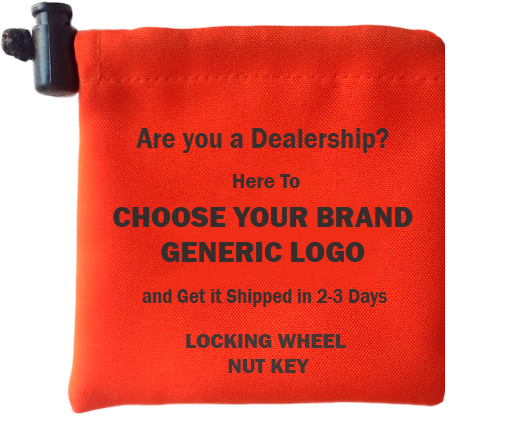 Generic Wheel Lock Key Bags