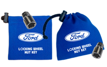 Ford - Blue - Locking Wheel Nut Key Bag