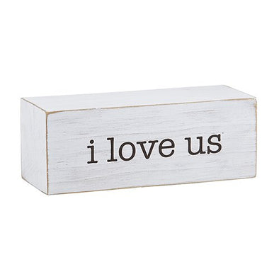 "Message Block ""I Love Us"""