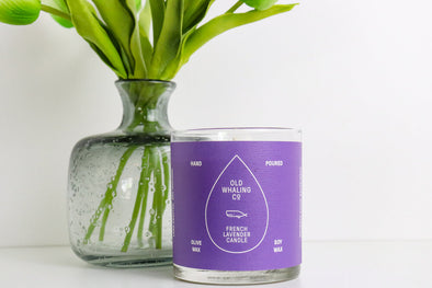 Old Whaling Co. Candle   (French Lavender)