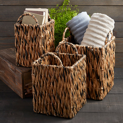 Rattan Basket (square/large)