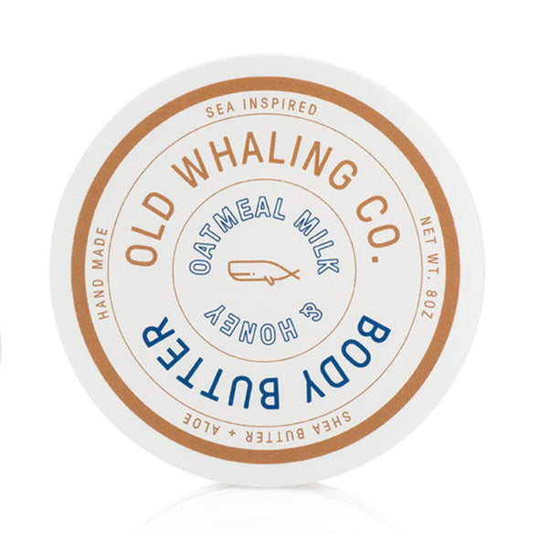 Old Whaling Co. Body Butter Oatmeal Milk & Honey     8 oz.