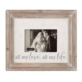 "Mud Pie ""All My Love All My Life"" Frame (Wedding)"
