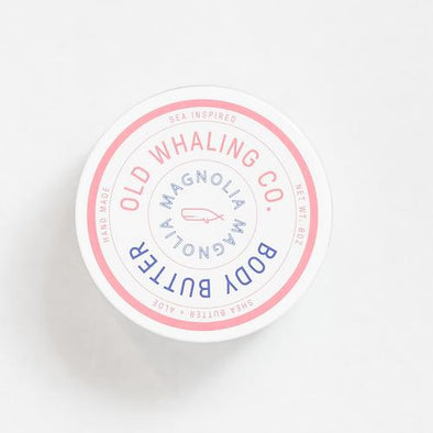 Old Whaling Co. Body Butter Magnolia   2 oz Travel