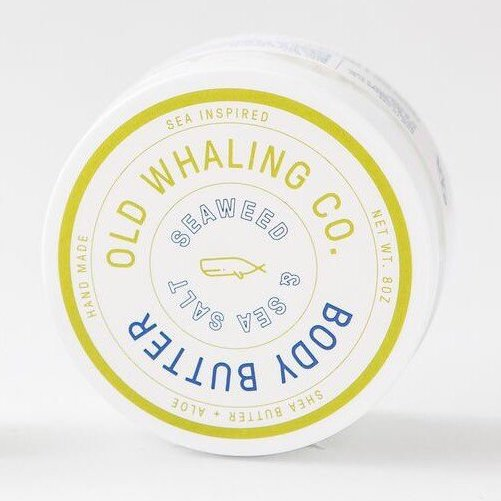 Old Whaling Co. Body Butter Seaweed & Sea Salt     8 oz.