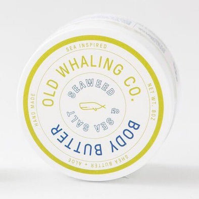 Old Whaling Co. Body Butter Seaweed & Sea Salt     2 oz Travel