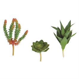 Mud Pie Mini Faux Succulent Stem   Worm Plant