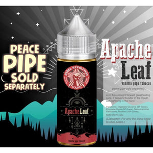 Rebel Revolution Vape - Apache Leaf MTL 30ml